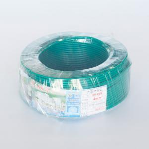 汾江 广东珠江电线电缆 ZR-BVR 1X4.0 绿色 100M