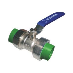 联塑 双活接球阀(承口连接)Ⅱ型(精品家装管PP-R配件)绿色 dn20(LS)