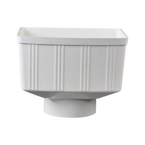 伟虹 PVC-U排水配件 方形雨水斗 dn110