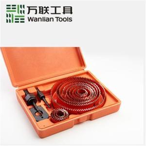 万联 套装开孔器(精品)19-127mm 13件套